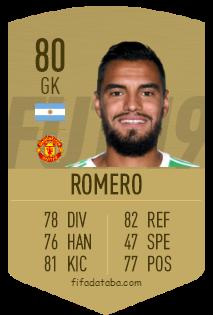 Sergio Romero FIFA 19 Rating, Card, Price