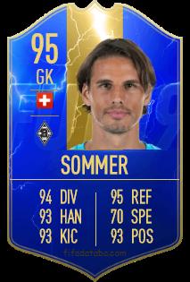 Yann Sommer Fifa 19 Spieler Statistik Card Preis