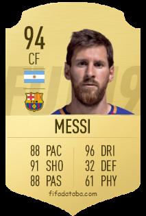 Messi Fifa 14 Card Lionel Messi FI...