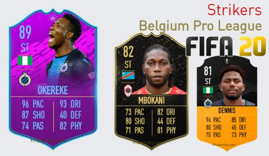 Belgium Pro League Best Strikers fifa 2020