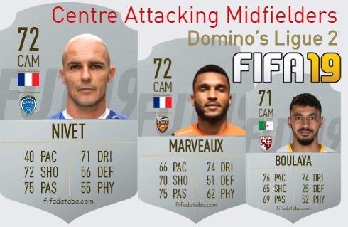 Domino's Ligue 2 Best Centre Attacking Midfielders fifa 2019