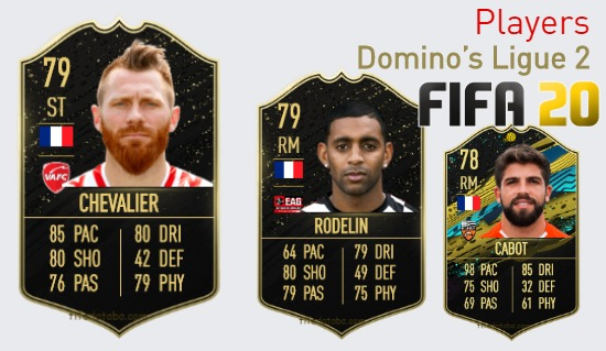 FIFA 20 Domino's Ligue 2 Best Players Ratings