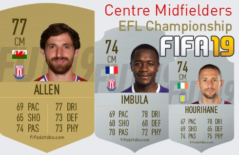 EFL Championship Best Centre Midfielders fifa 2019