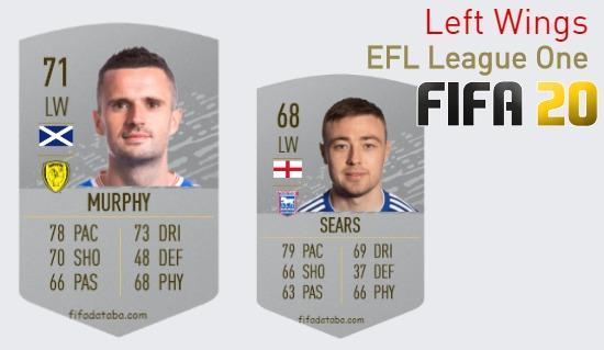 EFL League One Best Left Wings fifa 2020