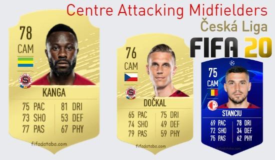 Česká Liga Best Centre Attacking Midfielders fifa 2020