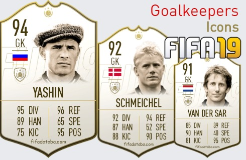 Icons Best Goalkeepers fifa 2019