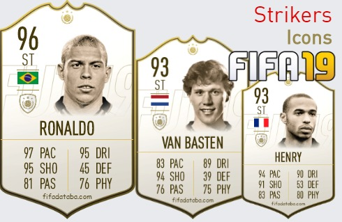 Icons Best Strikers fifa 2019