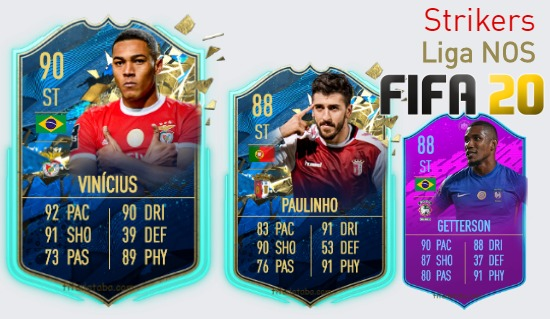 Liga NOS Best Strikers fifa 2020