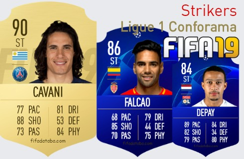 Ligue 1 Conforama Best Strikers fifa 2019