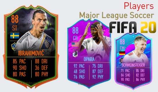FIFA 20 Major League Soccer Best Players Ratings