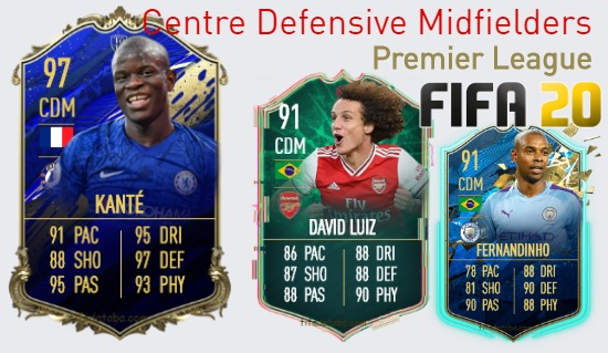 Premier League Best Centre Defensive Midfielders fifa 2020