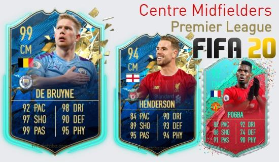 Premier League Best Centre Midfielders fifa 2020