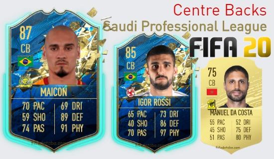 Saudi Professional League Best Centre Backs fifa 2020