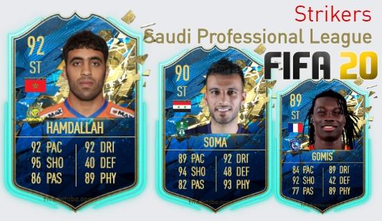 Saudi Professional League Best Strikers fifa 2020