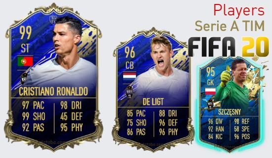 FIFA 20 Serie A TIM Best Players Ratings
