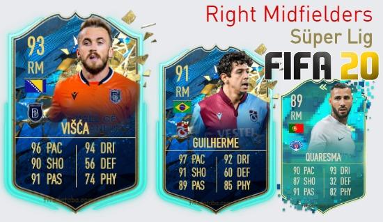 Süper Lig Best Right Midfielders fifa 2020