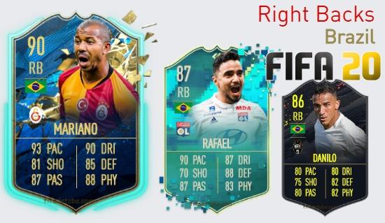 Brazil Best Right Backs fifa 2020