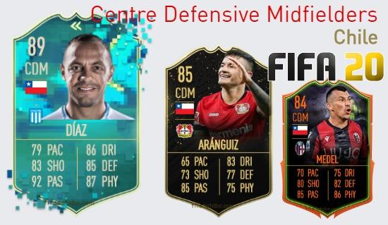 Chile Best Centre Defensive Midfielders fifa 2020