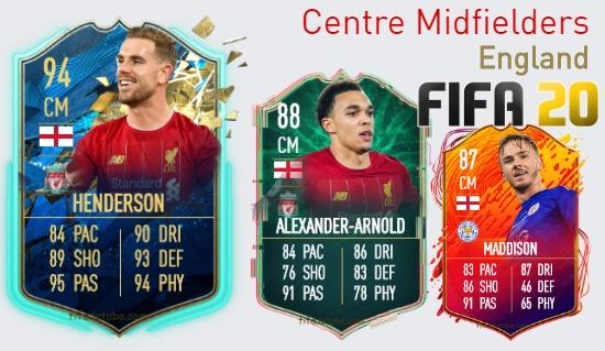 England Best Centre Midfielders fifa 2020