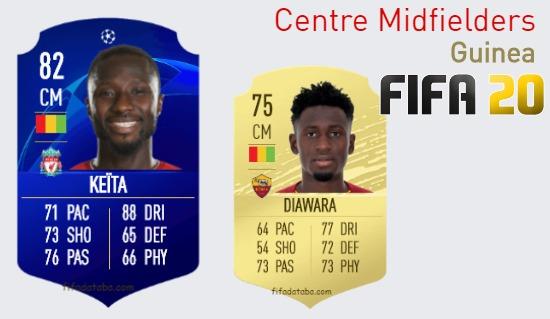 Guinea Best Centre Midfielders fifa 2020