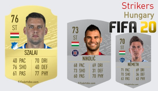 Hungary Best Strikers fifa 2020