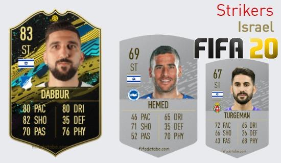 Israel Best Strikers fifa 2020