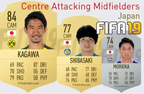 Japan Best Centre Attacking Midfielders fifa 2019