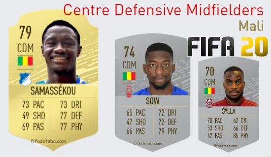 Mali Best Centre Defensive Midfielders fifa 2020