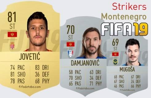 Montenegro Best Strikers fifa 2019