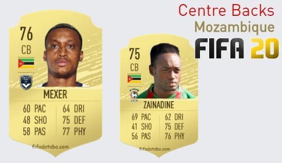 Mozambique Best Centre Backs fifa 2020