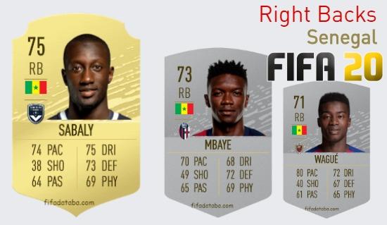 Senegal Best Right Backs fifa 2020