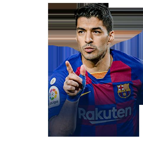 Suárez fifa 2020 profile