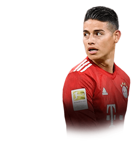 James Rodríguez fifa 19