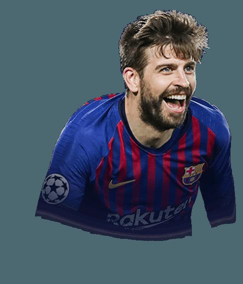 Gerard Piqué Bernabeu fifa 19