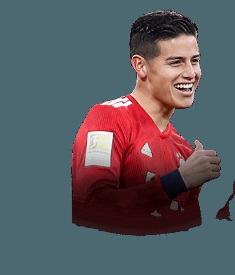 James Rodríguez fifa 19