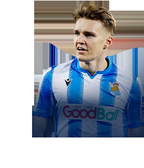 Ødegaard fifa 2020 profile