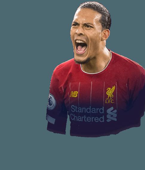van Dijk fifa 2020 profile