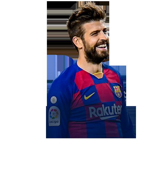 Gerard Piqué Bernabeu fifa 20