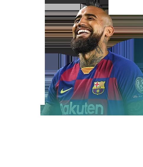 Arturo Vidal fifa 20