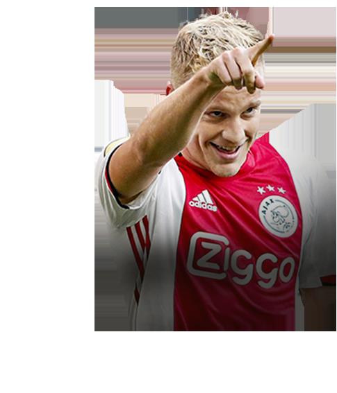 Donny van de Beek fifa 20